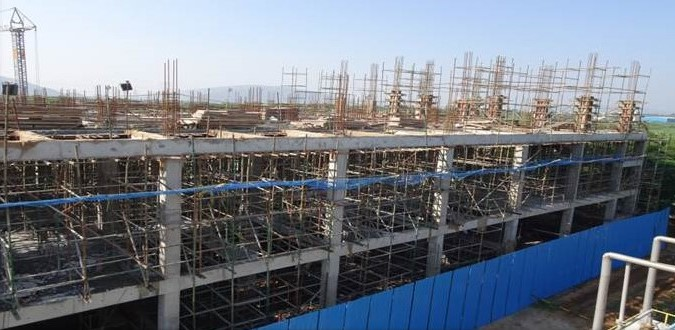 PharmaZell – Update on new Mesalazine production building in Vizag (India)